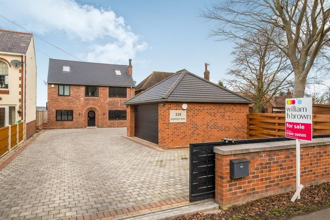Thumbnail Detached house for sale in Mansfield Road, Worksop