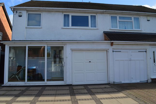 Thumbnail Semi-detached house for sale in Conway Crescent, Willenhall