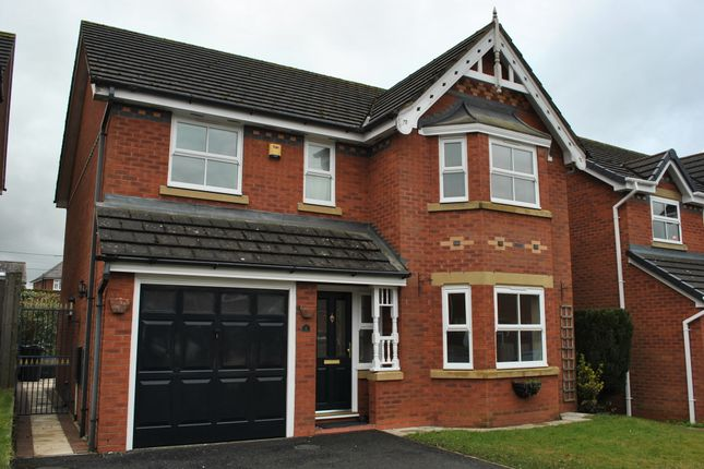Thumbnail Detached house to rent in Cholmondeley Rise, Nomansheath, Malpas, Cheshire