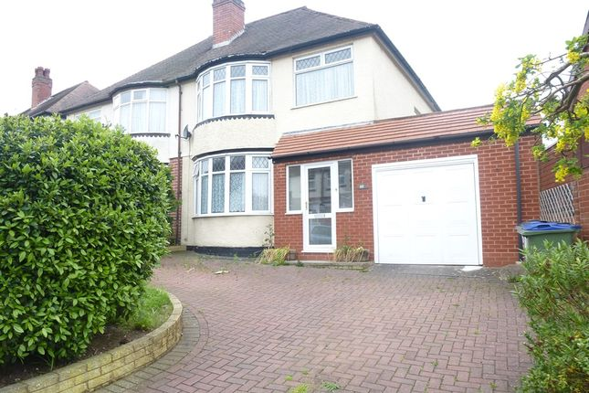 Thumbnail Semi-detached house for sale in Pitcairn Road, Bearwood, Smethwick