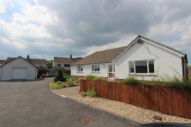 Thumbnail Detached house for sale in Parc Annell, Crugybar, Llanwrda