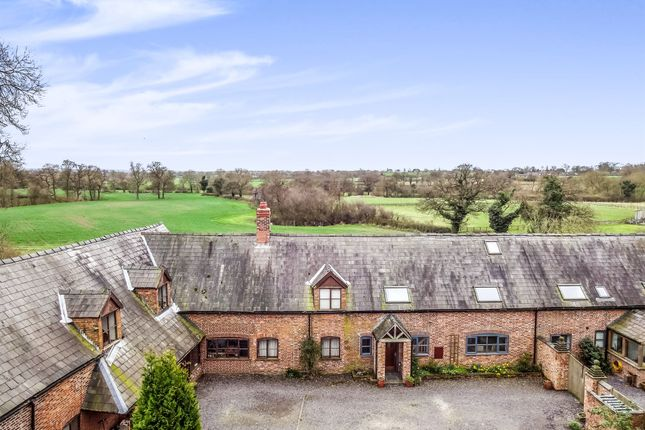 Thumbnail Barn conversion for sale in Stoke Hall Lane, Barbridge, Nantwich