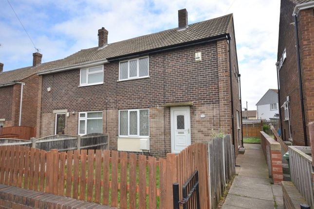 Thumbnail Semi-detached house to rent in Woodside, Castleford