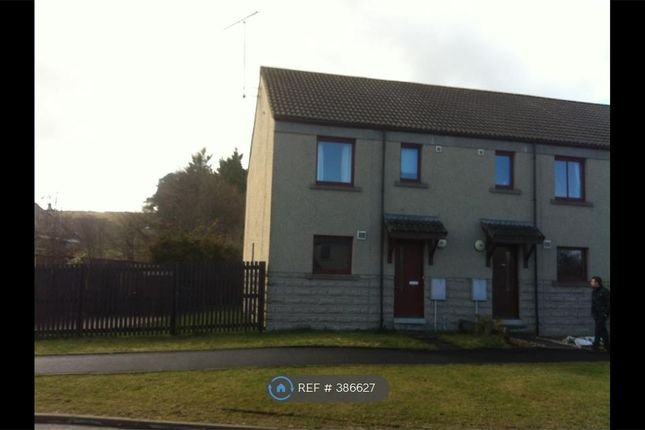 Thumbnail End terrace house to rent in Fraser Road, Alford