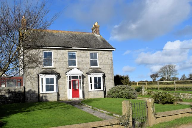 Thumbnail Detached house for sale in Townshend, Nr. Hayle