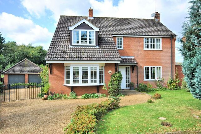 Thumbnail Detached house for sale in Malvern Close, South Wootton, King's Lynn