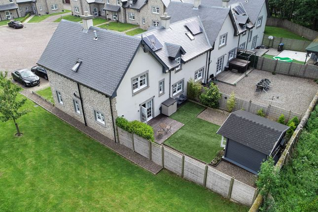 Thumbnail End terrace house for sale in Strathearn House, Western Road, Auchterarder