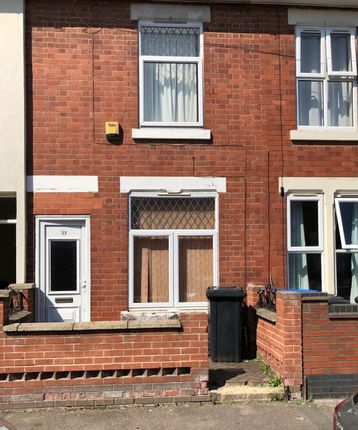 Thumbnail 4 bed terraced house to rent in St. Giles Road, New Normanton, Derby