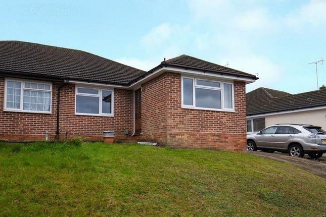 Thumbnail Semi-detached bungalow to rent in Nalders Road, Chesham