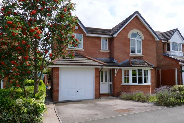 4 bed detached house for sale in St Davids Way, Knypersley, Staffordshire