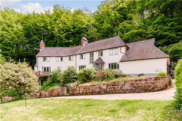 Thumbnail Detached house for sale in Hillside House, Stinchcombe Hill, Dursley, Gloucestershire