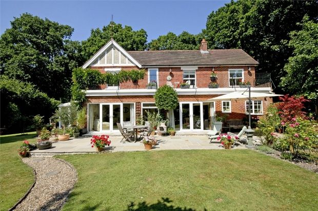 5 bed detached house for sale in Hightown Hill, Ringwood, Hampshire