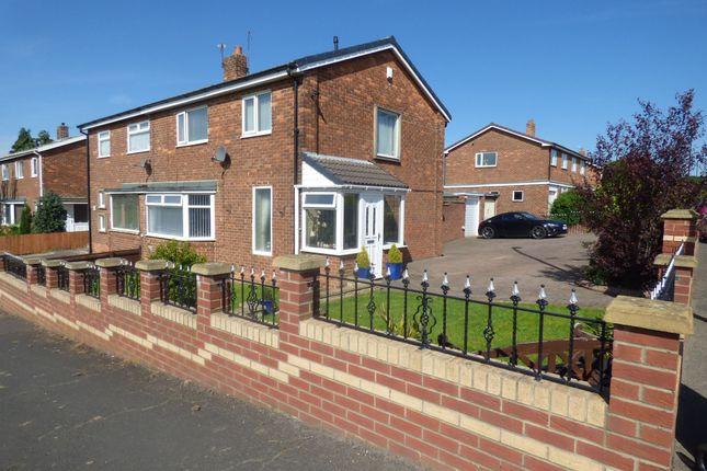 Thumbnail Semi-detached house for sale in Lambton Lea, Shiney Row, Houghton Le Spring