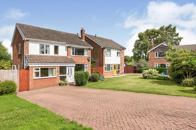 Thumbnail Detached house for sale in Sandown Crescent, Cuddington, Northwich, Cheshire
