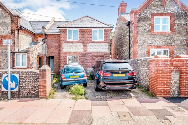 Thumbnail Semi-detached house for sale in Clifton Road, Worthing