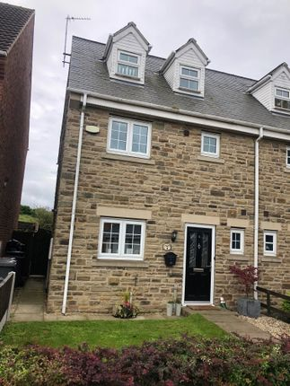 Thumbnail Semi-detached house to rent in Wentworth Mews, Barnsley
