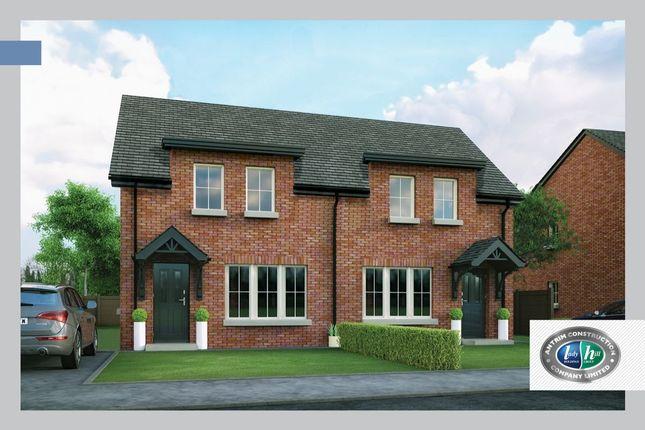 Thumbnail 3 bed semi-detached house for sale in Porter Green, Ballyhampton Road, Larne