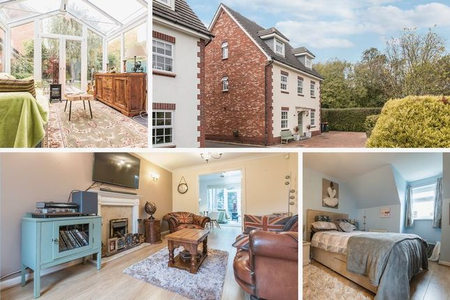 Thumbnail Detached house for sale in Grosmont Way, Coedkernew, Newport