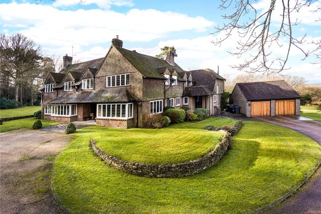 Thumbnail Detached house for sale in Green Lane, Churt, Farnham, Surrey