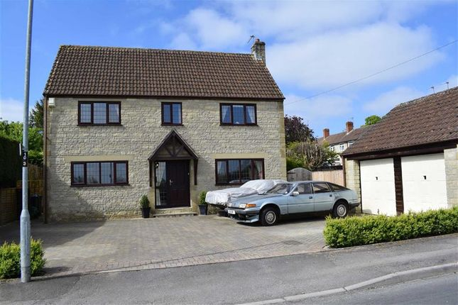 Thumbnail Detached house for sale in Hill Corner Road, Chippenham, Wiltshire