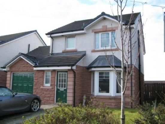 Thumbnail Detached house to rent in Alexandra Meadows, Lockerbie
