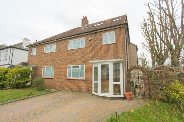 Thumbnail Semi-detached house for sale in Marchmont Road, Wallington