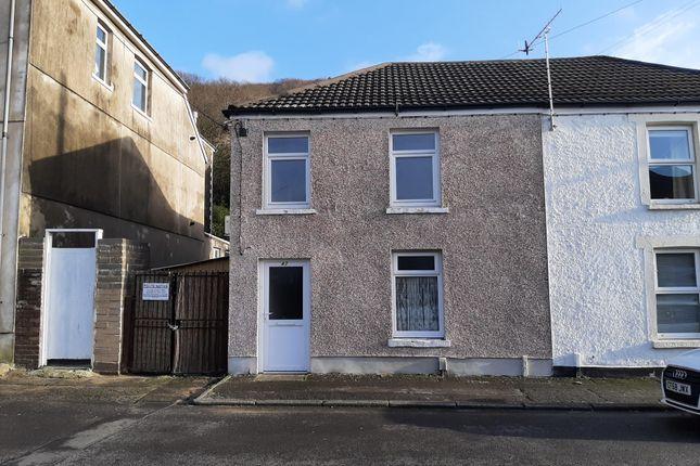 Thumbnail End terrace house to rent in Thomas Street, Briton Ferry, Neath