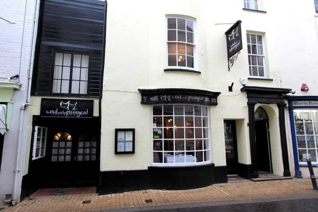 Thumbnail Restaurant/cafe for sale in Teign Street, Teignmouth