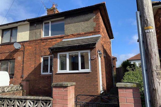 2 bed semi-detached house to rent in Osborne Avenue, Carlisle CA2