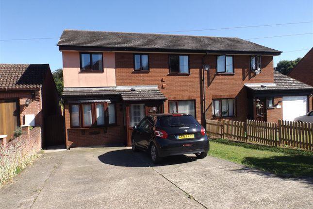 Thumbnail Semi-detached house for sale in Brooksfield, Bildeston, Ipswich