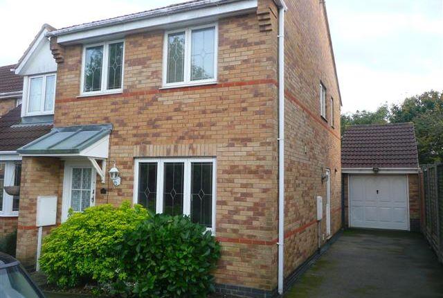 Thumbnail Semi-detached house to rent in Pershore Close, Wellingborough