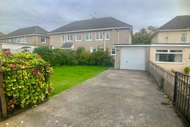 Thumbnail Semi-detached house to rent in St Christopher'S Road, Pothcawl