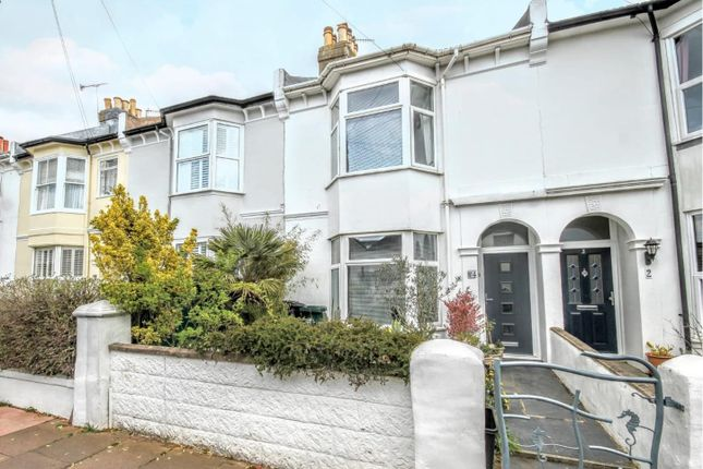 Thumbnail Terraced house for sale in Reigate Road, Brighton