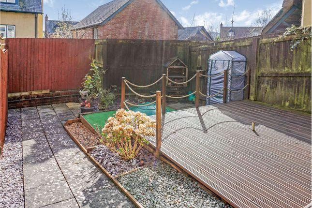 Rear Garden of Jubilee Road, Bradninch EX5