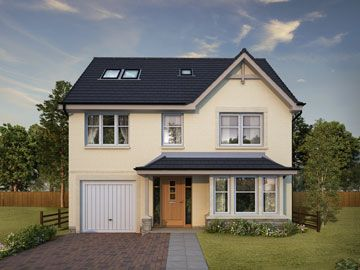 Thumbnail Detached house for sale in The Fullarton, Ostlers Way, Kirkcaldy, Fife