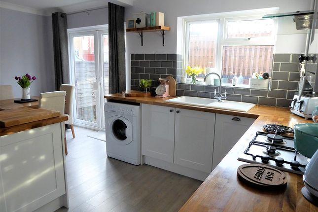 Kitchen Area of Cwrt Coed Parc, Maesteg, Bridgend. CF34