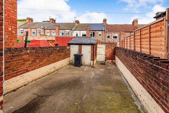 Rear Yard of Brougham Street, Darlington, County Durham DL3