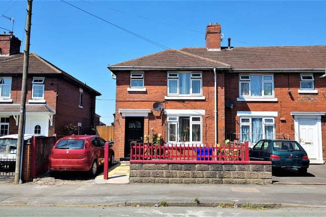 Thumbnail End terrace house for sale in Langford Road, Stoke-On-Trent, Staffordshire