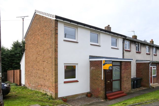 Thumbnail End terrace house for sale in Brierley Gardens, Otterburn, Northumberland
