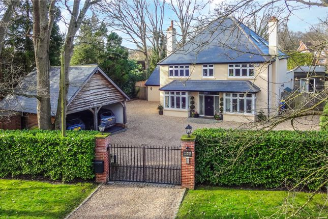 Thumbnail Detached house for sale in Chandlers Lane, Yateley, Hampshire