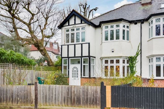 Thumbnail Semi-detached house to rent in Hertford Avenue, London