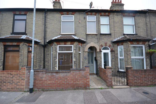 Thumbnail Terraced house to rent in John Street, Lowestoft