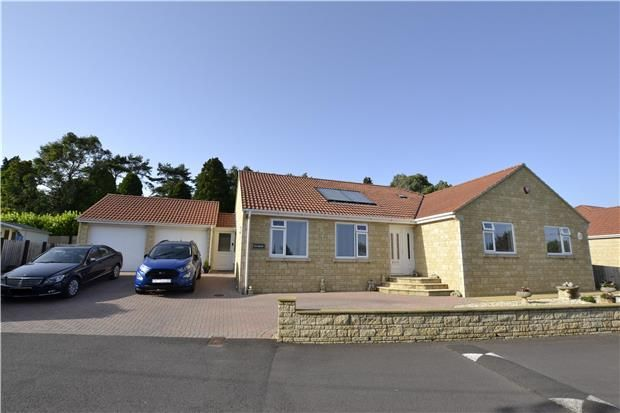 Thumbnail Detached bungalow for sale in Huddox Hill, Peasedown St. John, Bath, Somerset