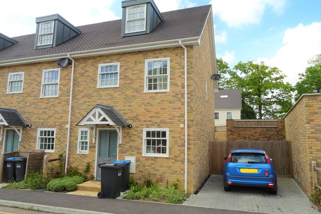 Thumbnail End terrace house to rent in Southdowns Park, Haywards Heath