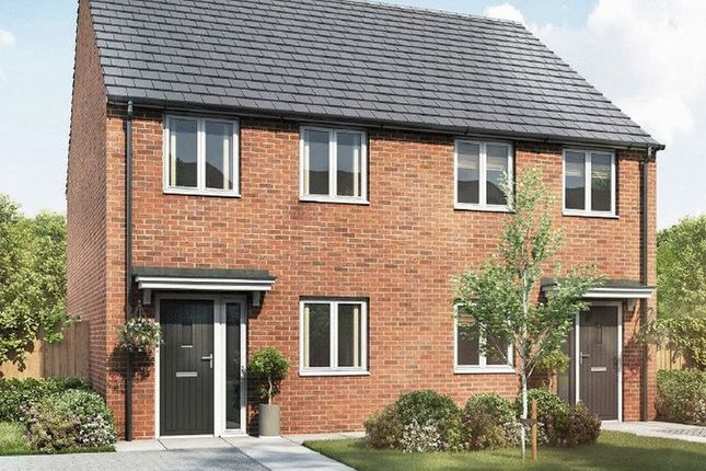 Thumbnail Terraced house for sale in Plot 135 Stadium Road, Hall Green, Birmingham