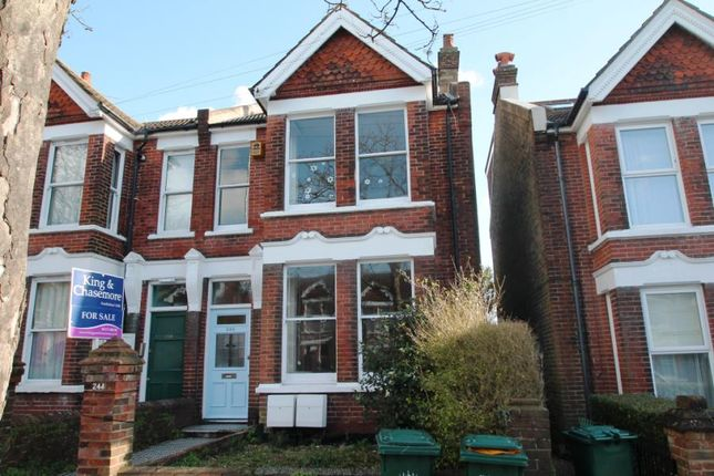 Thumbnail Semi-detached house for sale in Ditchling Road, Brighton, East Sussex