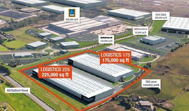 Thumbnail Light industrial to let in Logistics 175, Logistics North, Bolton, Lancashire