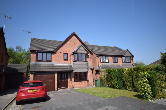Thumbnail Detached house to rent in Willowcroft Rise, Blythe Bridge, Stoke-On-Trent