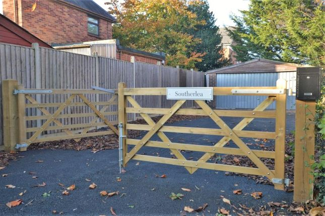 Gates of Shortlands Lane, Cullompton, Devon EX15