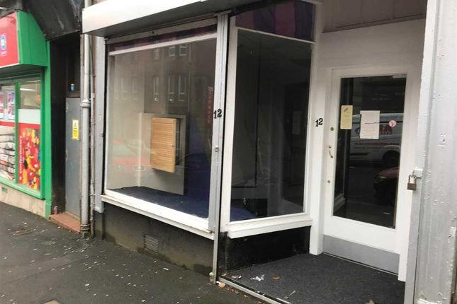 Retail premises to let in Well Street, Paisley